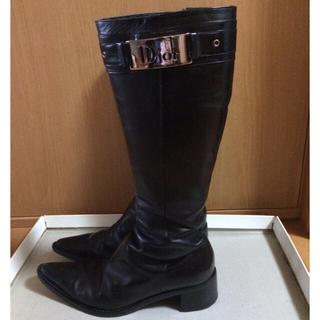 ディオール(Dior)のディオール ブーツ 35 1/2(ブーツ)