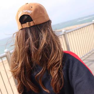 ロンハーマン(Ron Herman)の西海岸スタイル☆LUSSO SURF スウェード刺繍キャップ 帽子☆RVCA(キャップ)