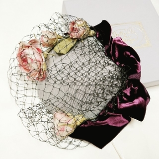 Belle des Poupee  ローズミニベレー(ハンチング/ベレー帽)