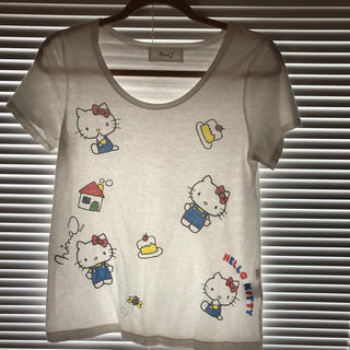 ニーナミュウ(Nina mew)のニーナミュウ  キティーいっぱいTシャツ(Tシャツ(半袖/袖なし))