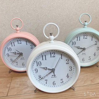 イデアインターナショナル(I.D.E.A international)のBRUNO*置時計(置時計)
