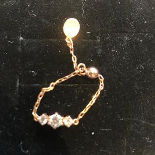 ダブコレクション(DUB Collection)のDUB collection  ピンクゴールド チェーンリング (リング(指輪))