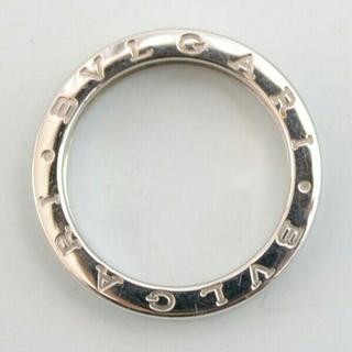 ブルガリ(BVLGARI)の【美品】ブルガリ ビーゼロワンリング 18K ホワイトゴールド 大きめ20号(リング(指輪))