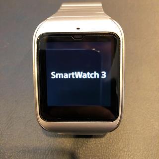 ソニー(SONY)のSONY SmartWatch3 SWR50 メタルシルバー(腕時計(デジタル))