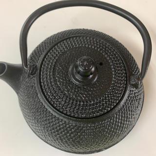 南部鉄器 急須 茶器 鉄分補給 白湯ダイエット 美品(金属工芸)