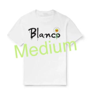 村上隆 × J. Balvin Blanco Script Tee(Tシャツ/カットソー(半袖/袖なし))
