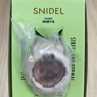 スナイデル(snidel)のSNIDEL baby-G  コラボ CASIO 新品未使用(腕時計)