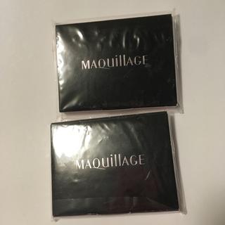 マキアージュ(MAQuillAGE)のマキアージュ あぶらとり紙 2セット(あぶらとり紙)
