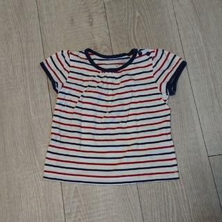 シマムラ(しまむら)のボーダー Tシャツ サイズ70(Tシャツ)