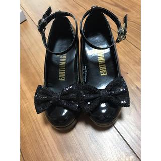 アースマジック(EARTHMAGIC)のアースマジック 靴 18センチ(フォーマルシューズ)
