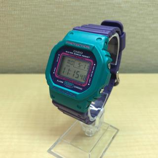 ジーショック(G-SHOCK)のDW-5600TB パープルxターコイズ(腕時計(デジタル))