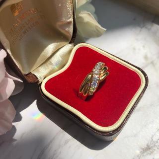 ミツコシ(三越)のK18 三越 ダイヤモンドリング 0.53ct(リング(指輪))