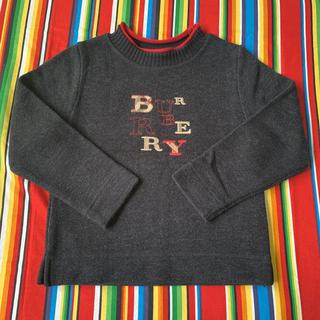 バーバリー(BURBERRY)のバーバリー ロゴセーター(ニット)