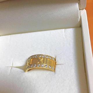 K18ゴールドダイヤリング(リング(指輪))