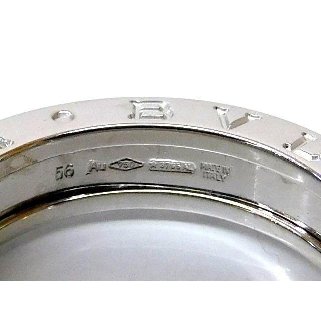 BVLGARI(ブルガリ)のブルガリ リング 指輪 ■ 15.5号 (56) B-zero1 ビーゼロワン  メンズのアクセサリー(リング(指輪))の商品写真