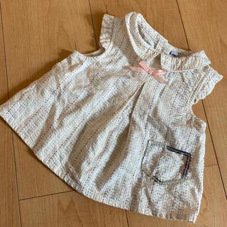 ベビーディオール(baby Dior)の最終値下げ baby Dior ディオール ブラウス トップス 6M(シャツ/カットソー)