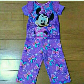 ディズニー(Disney)の最終値下げ!美品!ミニーちゃん 80センチパジャマ(パジャマ)