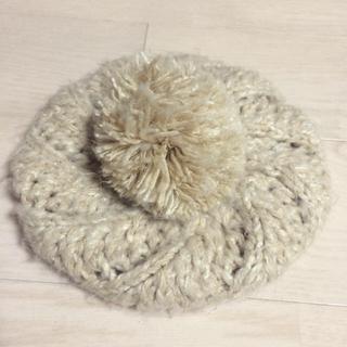 ✳︎ベージュニット帽(ニット帽/ビーニー)