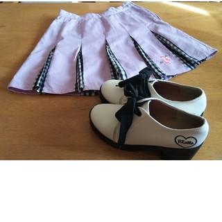 ピンクラテ(PINK-latte)のPINK-latte スカート 厚底靴セット(ひざ丈スカート)