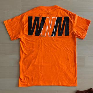 wind and sea Tシャツ オレンジ(Tシャツ/カットソー(半袖/袖なし))