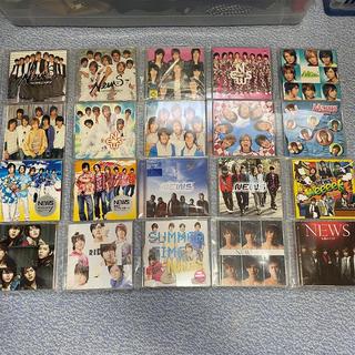 ニュース(NEWS)の【激レア】NEWS CDシングル まとめ売り 52枚(ポップス/ロック(邦楽))