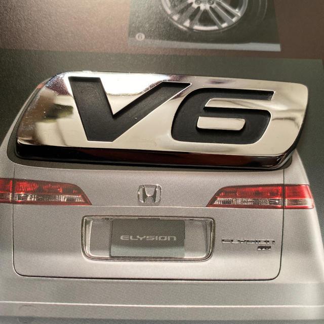 ホンダ(ホンダ)のホンダ V6エンブレム 自動車/バイクの自動車(汎用パーツ)の商品写真