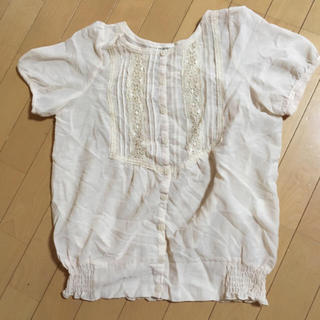 サンカンシオン(3can4on)のサンカンシオン ブラウス 半袖(シャツ/ブラウス(半袖/袖なし))