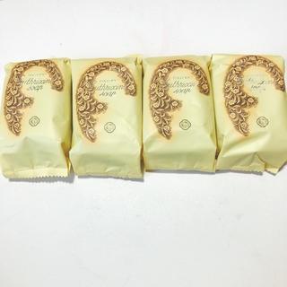 シセイドウ(SHISEIDO (資生堂))の資生堂 花椿石鹸 4つ(ボディソープ/石鹸)