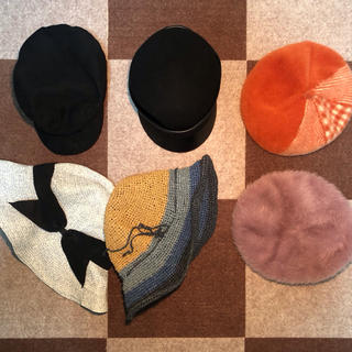 ザラ(ZARA)の各種類の帽子 👒part①(ハンチング/ベレー帽)