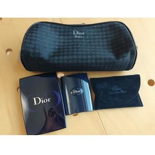 クリスチャンディオール(Christian Dior)のDiorポーチ ファンデーション アイシャドウ3点セット(その他)