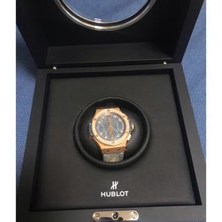 ウブロ(HUBLOT)のHUBLOT ビッグバン ジーンズ ゴールドダイヤモンド 世界限定200本(腕時計(アナログ))