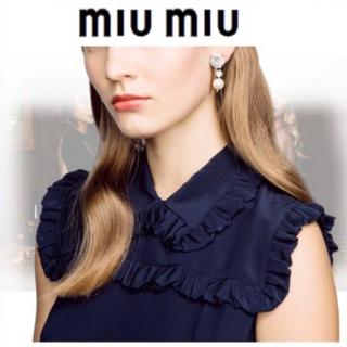 ミュウミュウ(miumiu)のmiumiu イヤリング(イヤリング)