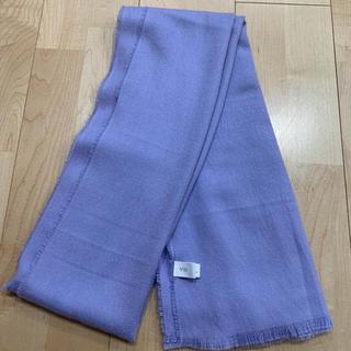 ヴィス(ViS)のvis ビス マフラー ショール 春 紫 すみれ色(マフラー/ショール)