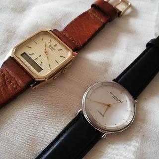 オリエント(ORIENT)のレトロ腕時計 CASIO ORIENT 2本セット(腕時計)