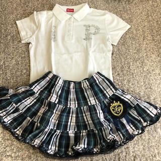 インナープレス(INNER PRESS)のインナープレス  シャツ&スカート(スカート)