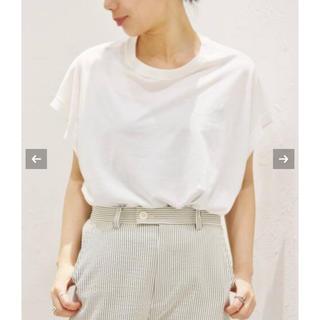 プラージュ(Plage)のプラージュ ホワイトTシャツ(Tシャツ/カットソー(半袖/袖なし))