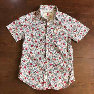 エーキャンビー(A CAN B)のエーキャンビー Ao キッズ 花柄 半袖シャツ 120cm(Tシャツ/カットソー)