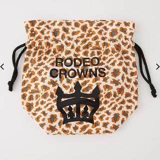 ロデオクラウンズ(RODEO CROWNS)の【小麦様専用】【新品未使用】ロデオクラウン 巾着ポーチ(ポーチ)