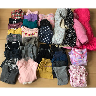 ブランシェス(Branshes)の女の子の服110センチ 冬物32点まとめ売り(その他)