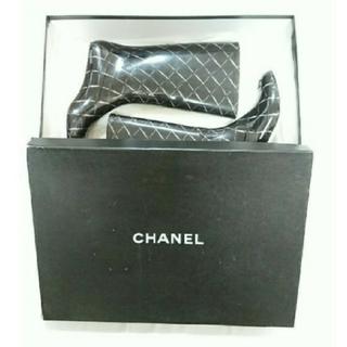 シャネル(CHANEL)の限定価格★CHANELレインブーツ(レインブーツ/長靴)