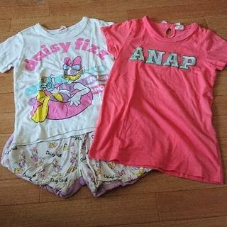 アナップキッズ(ANAP Kids)の(120)  ショートパンツ(Tシャツ/カットソー)