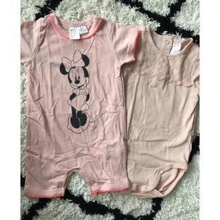 エイチアンドエム(H&M)の子供服 ロンパース H&M(ロンパース)