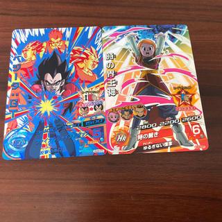 ドラゴンボール(ドラゴンボール)のスーパードラゴンボールヒーローズベジータGT &時の界王神(CP)(シングルカード)