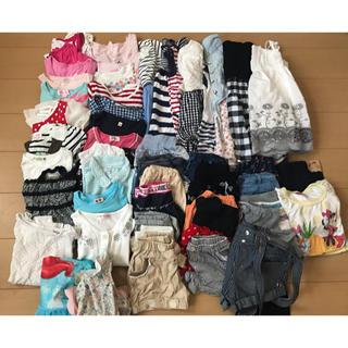 ブランシェス(Branshes)の女の子の服110センチ、夏物まとめ売り51点(水着あり)(その他)