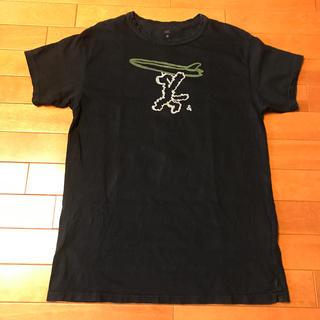 フォーティーファイブアールピーエム(45rpm)の45rpm  メンズ インディゴTシャツ サイズ4(Tシャツ/カットソー(半袖/袖なし))