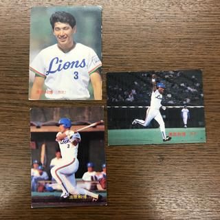 カルビー - カルビー 1987年 プロ野球チップス 清原和博3 ライオンズ 3枚セット