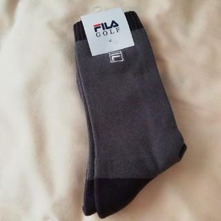 フィラ(FILA)のFILA GOLFソックス  フィラゴルフソックス  靴下(ソックス)
