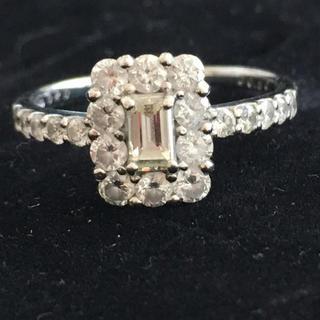 プラチナ ダイヤモンド リング 1ct(リング(指輪))
