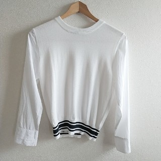 ガリャルダガランテ(GALLARDA GALANTE)の🍀ガリャルダガランテ  Loungedress 異素材カットソーシャツ(カットソー(長袖/七分))