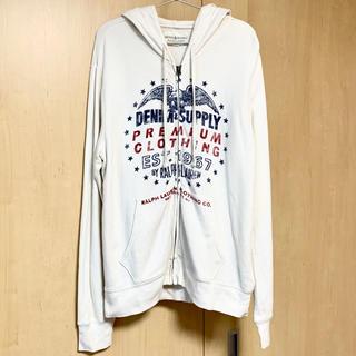 デニムアンドサプライラルフローレン(Denim & Supply Ralph Lauren)のDENIM&SUPPLY RALPH LAUREN パーカー ホワイト 白(パーカー)